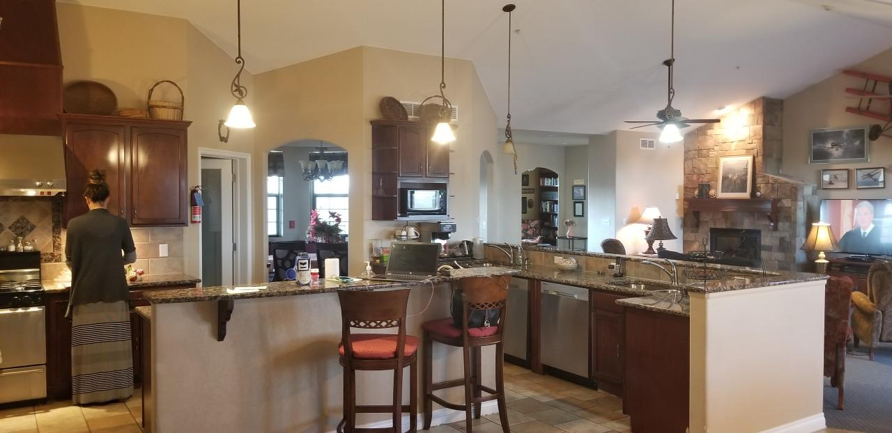 ft. lupton eagles nest assisted living kitchen